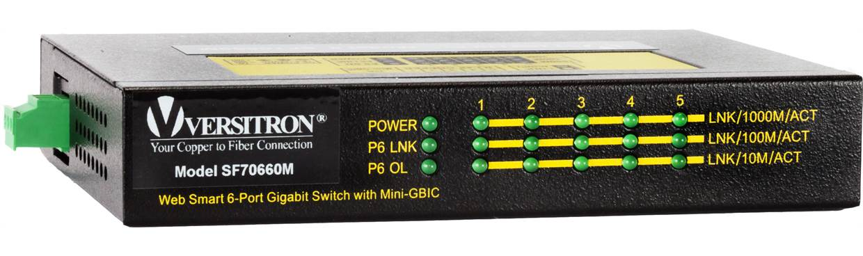 Industrial Switches with Fiber | Fiber Optic Industrial