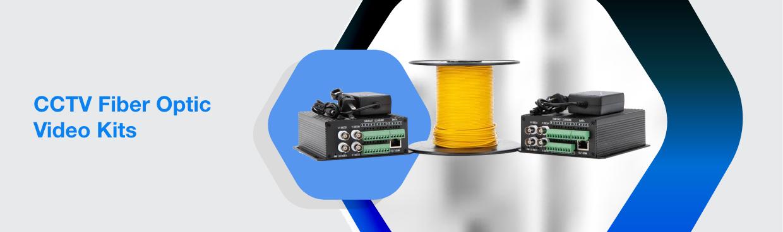 CCTV Fiber Optic Video Kits